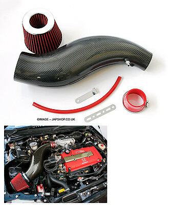 Carbon Fibre Induction Kit Whale Intake Honda Civic 92-00 Ek4/9 Eg Vti Ej9 Z0188