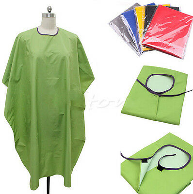 Chic Adult Barbers Cut Adult Style Hairdressing Waterproof Cloth Gown Cape Hair