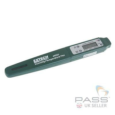 Extech 44550 Pocket Humidity/Temperature Pen, 10 to 85%, -10 to 50ºC / UK