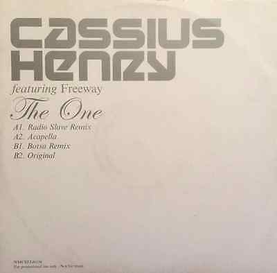 "CASSIUS HENRY FT FREEWAY - The One (12"") (Promo) (EX-/VG)"