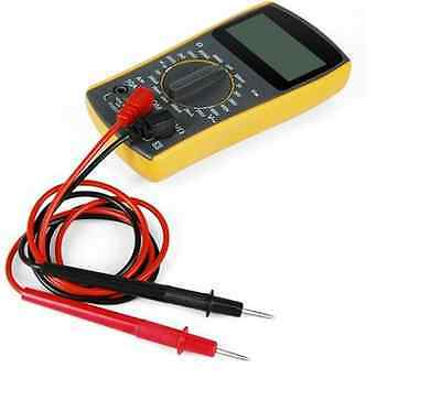 F817 2 in 1 75cm Replacement Test Leads Probes for Digital Multimeter