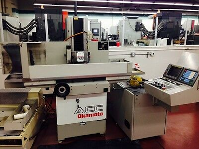 Okamoto 6-18DXNC CNC Surface Grinder With Fanuc Controls & Walker Magnetic Chuck