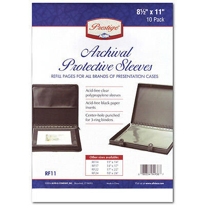 Polypropylene Sleeve 8.5X11 Pack/10