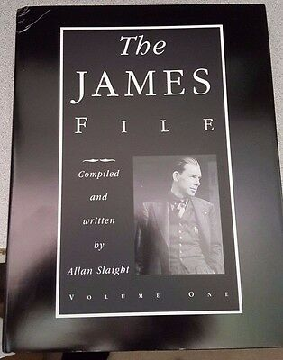 The James File (3 Book Set) by Allan Slaight BOOK