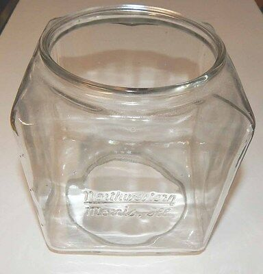 Used Chipped Glass Globe Part For Northwestern Model 60 Gumball Vending Machines