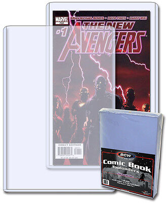 Current Age Comic Book Rigid Toploader Holder 10 pack - 7 X 10.5 inches