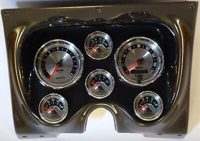 67 68 Camaro Carbon Dash Carrier w/ Auto Meter American Muscle Gauges