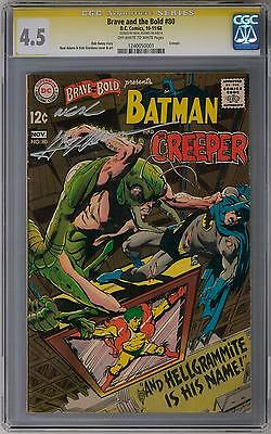 Brave and the Bold #80 CGC 4.5 (OW-W) Signature Series (Neal Adams)