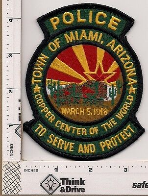 Miami Town Police..Arizona.