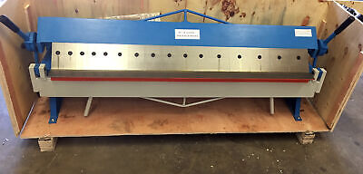 "48"" Pan Hand Brake Box Bender Bending Removable Fingers 16 Gauge"