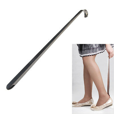 Extra Long Shoe Horn Stainless Steel Metal Shoes Remover Shoehorn Disability Aid