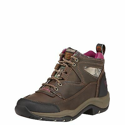 ARIAT - Women's Terrain Boots - Distressed Brown / Camo - ( 10016443 ) - New