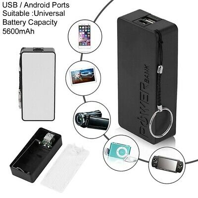 Universal Portable 5600mAh Battery Charger Power Bank USB For Mobile Devices New