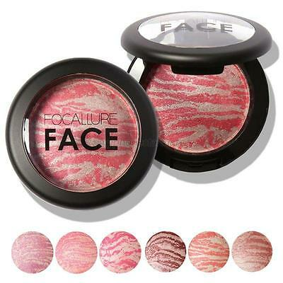 Face Contour Pressed Cheek Makeup Powder Blush Palette Face Beauty Cosmetics NEW