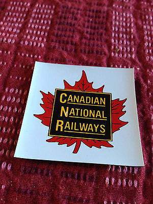 Canadian National Railways - Railroad Magnet
