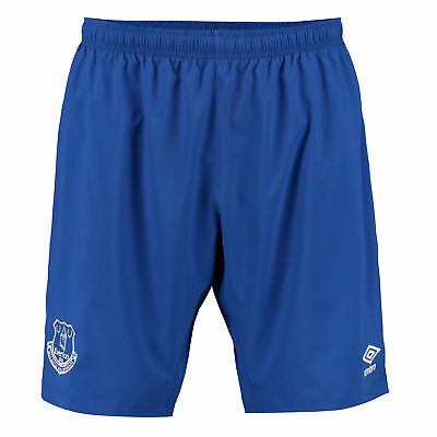 Umbro Mens Gents Football Soccer Everton Home Change Shorts Bottoms 2016-17