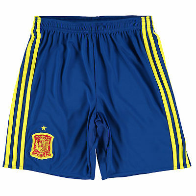 adidas Childrens Kids Football Soccer Spain Home Shorts Bottoms Pants 2016