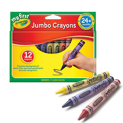 Crayola My First Jumbo Crayons - 12 Pack Childrens crayon colours