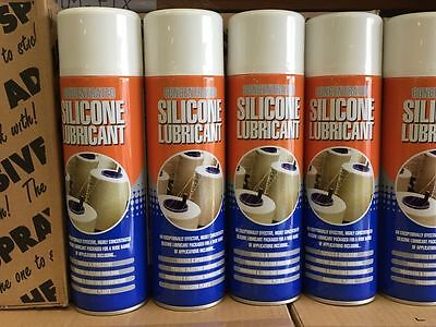 Colourless Silicone Spray Lubricant Multi Purpose Water Proofing 500ml new
