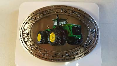 John Deere 9630 Western Style Collectible Die-Cast Belt Buckle Spec-Cast New