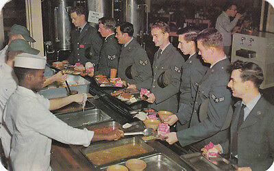 Mess Hall , Air Force Base , Delaware, 40-50s