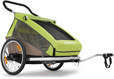 Croozer Kid For 2 Bicycle Trailer 2017 Green