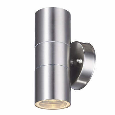 Outdoor Up and Down Wall Light - Stainless Steel Exterior Wall Light
