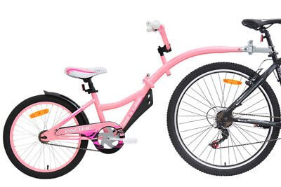 Pacific Tag A Long Child's Trailer Bike Pink