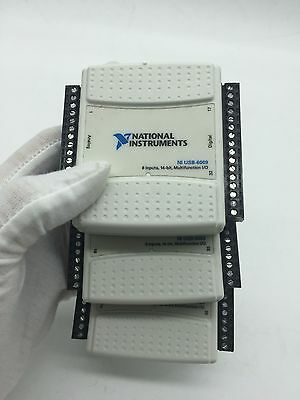 NATIONAL INSTRUMENTS, NI USB 6009 Low-Cost Multifunction DAQ,Tested,Good
