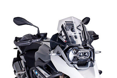 Bulle Racing Puig Pour Bmw R1200 Gs Annee 2016 Couleur Transparent.