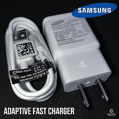 New OEM Adaptive Rapid Fast Charger for Samsung Galaxy Note 4 5 S6 S7 EDGE