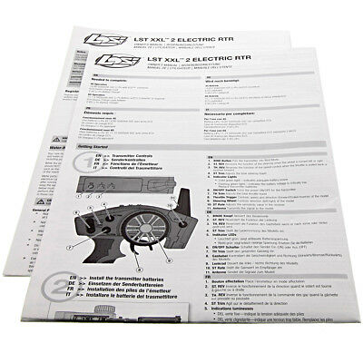 Losi LST XXL 2-E * INSTRUCTION & OWNERS MANUAL, & PARTS LIST * Exploded Views