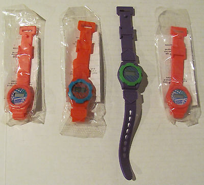 1990 Rare! 4 Honeycomb Watches By Kraft General Foods