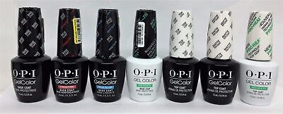 Gelcolor Soak-off  OPI - BASE, TOP COATS with BENEFITS - Pick Your Kind 0.5oz