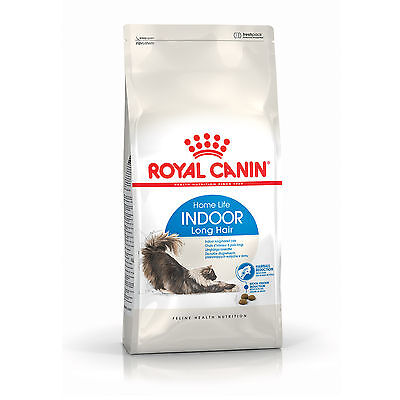 Croquettes pour chats Royal Canin Indoor Long Hair 35 Sac 10 kg