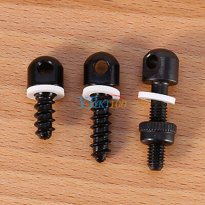 3Pcs Gun Sling Mounting Kit Rifle Shotgun Sling Swivel Screws Set Hunting Set