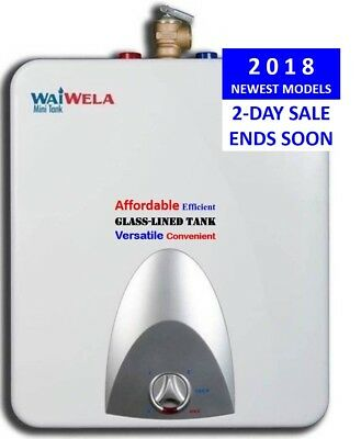 Best Rated Electric Point of Use Water Heater 2.5 Gal WaiWela WM-2.5 Glass-Lined