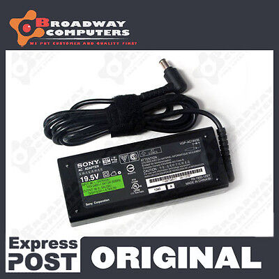 Original Genuine Adapter Charger for Sony Laptops 19.5V 4.7A 90W