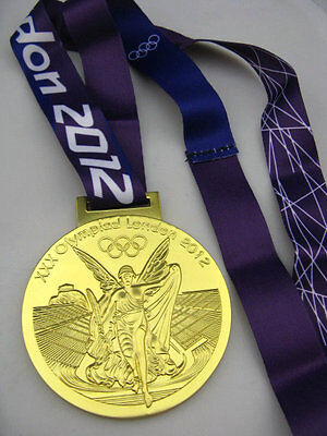 "2012 London Olympic Game Champions Award Winners ""Gold"" Medal Replicas RO"