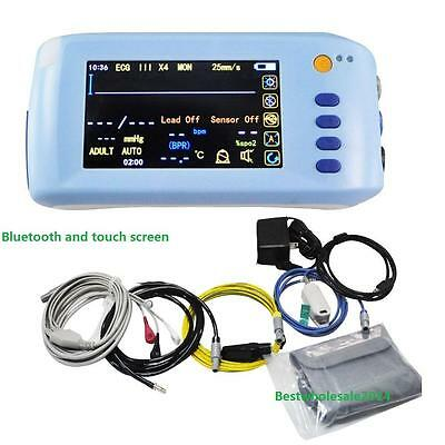 Handheld Bluetooth Touch  5-Parameter Monitor Patient Monitor Cardiac Monitor CE