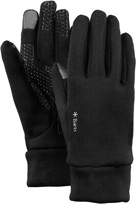 Barts Powerstretch Touch Gloves Handschuhe Touchscreenfähig  - black