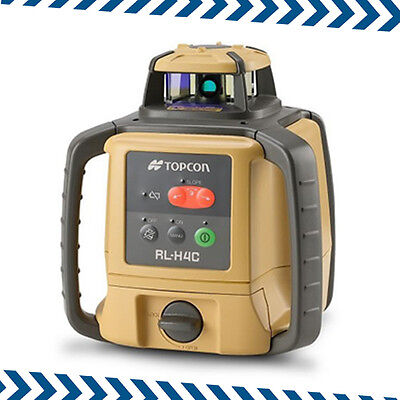New Topcon RL-H4C Rotating Laser, LS-80L Receiver, Subject to 20% VAT