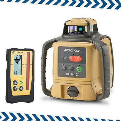 New Topcon RL-H4C Rotating Laser with LS-100D Digital Receiver Subject to 20%VAT