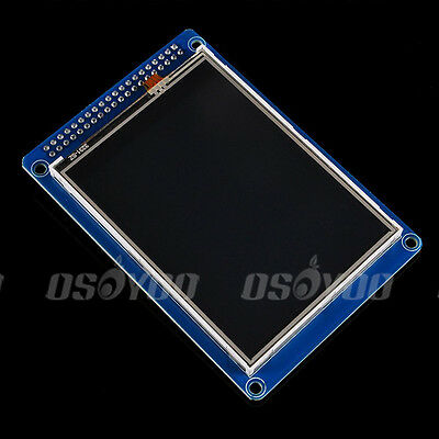 """3.2"""" inch TFT LCD Display Module &SD Card Cage+ Touch Panel for Arduino Mega2560"""