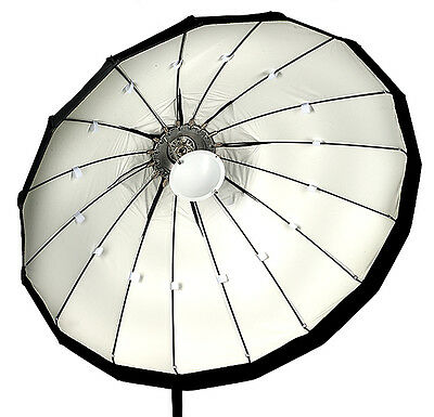 120cm Folding beauty dish, white, Profoto fitting