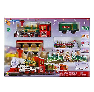 Holiday Express Christmas Train Track Set Xmas Tree Ornament Decoration Toy