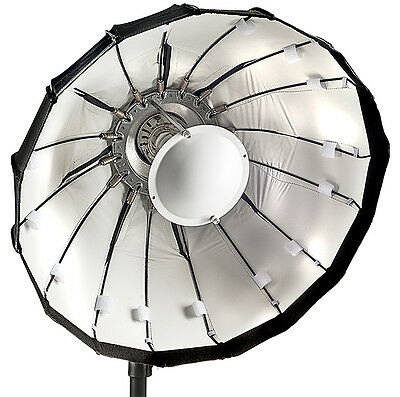 80cm Folding beauty dish, white, Lencarta/Bowens fitting