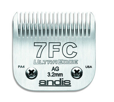 """Andis UltraEdge 7F Detachable Replacement Clipper Blade # 64121 1/8"""" 3.2mm NEW"""