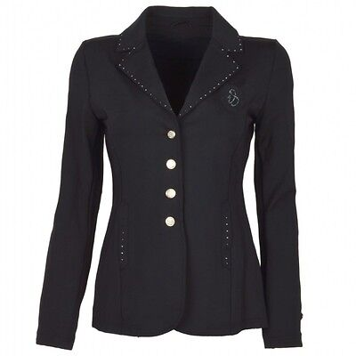 *SALE* Imperial Riding Kids Starlight Show Jacket - Black/Pink Stone