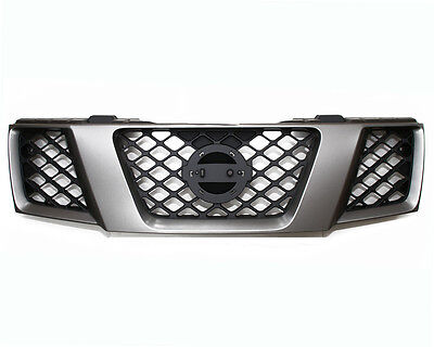 Front Radiator Grille D.Grey & Black For Nissan Navara D40/Pathfinder R51  01/10